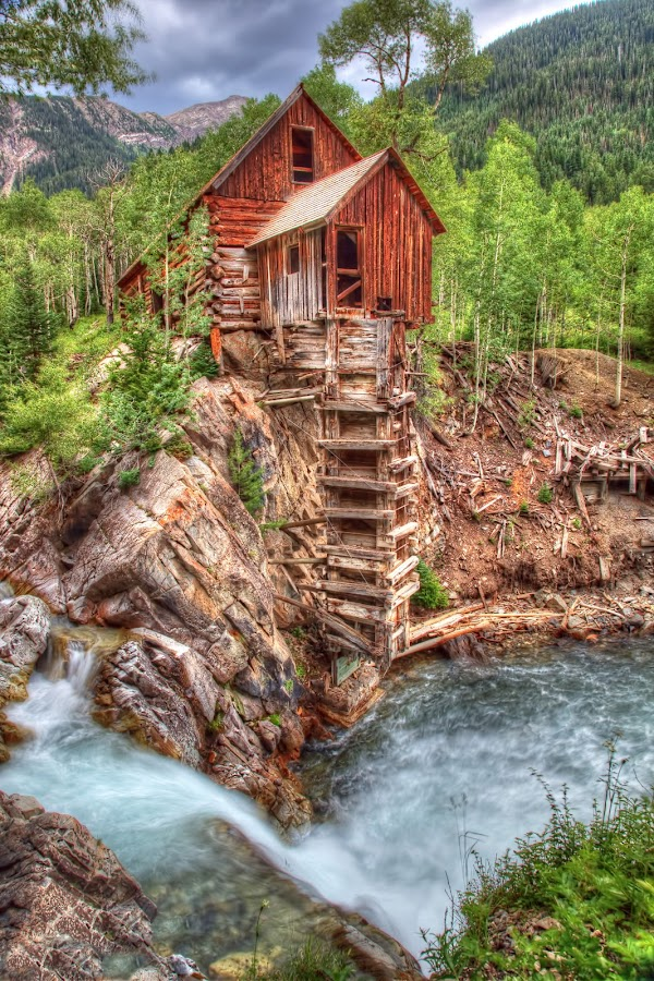 Crystal Mill by Mike DiRenzo - Buildings & Architecture Public & Historical