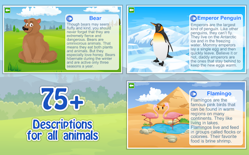 Kids Learn about Animals Lite- screenshot thumbnail