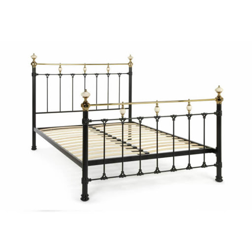 Serene Abigail Bed Frame Ivory