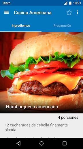Cocina Americana