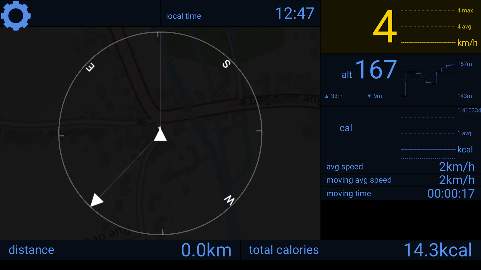 Bike Counter (Unreleased)- screenshot