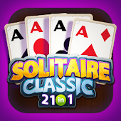 21 IN 1 Spider Solitaire Card