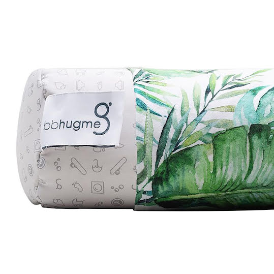 BBhugme Cover for Nursing Pillow Green Leaf