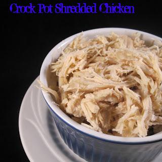 Crock Pot Shredded Chicken.