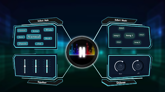 Bass Booster & Music Player EQ screenshot 2