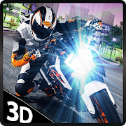 Racing in Impossible Moto Bike 3D Fast Crazy Track