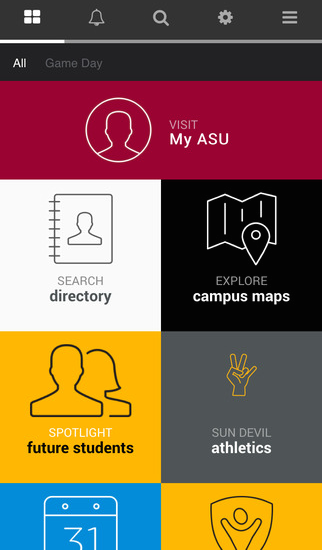 Arizona State University- screenshot