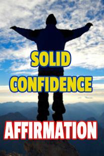 Confidence Affirmation - náhled