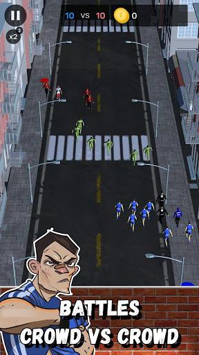 Street Battle Simulator - autobattler offline game apkmr screenshots 13