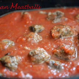 Italian Meatballs in Red Sauce