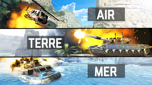 Massive Warfare: Aftermath - Jeu de chars gratuit  captures d'u00e9cran 1