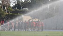 Como el Lugo sume en Almería les va a caer un chaparrón.