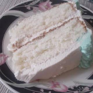 Super Moist White Cake.