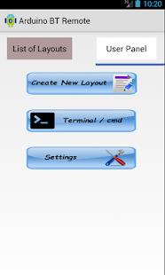 ArduinoBTRemote PRO - náhled