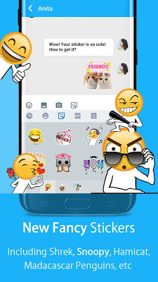 Hi Keyboard - Emoji,Theme - screenshot