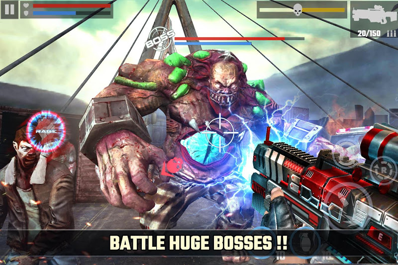 DEAD TARGET: FPS Zombie Apocalypse Survival Games Screenshot 1