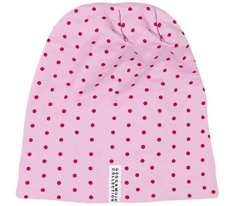 Geggamoja Mössa Pink/Red Dot
