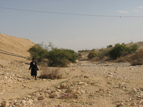 Photo: Going down to Nahal Prat (Wadi Kelt)...ירידה לנחל פרת