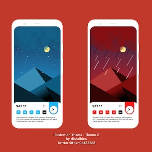 Illustration Theme for KLWP 2020.Apr.11.14 Paid Latest APK Free Download 1