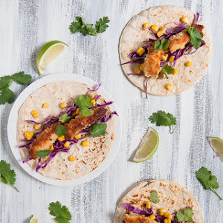 FISH TACOS WITH EASY TARTARE
