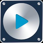 Skin Metal Blue for PlayerPro