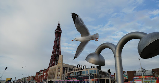 Sunday afternoon in Blackpool