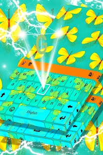 Luminous Butterfly Keyboard - náhled