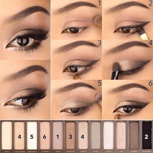 Makeup training (face, eye, lip) ?⚜️⚜️ - náhled