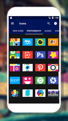 Olix - Icon Pack App (APK) scaricare gratis per Android/PC/Windows screenshot