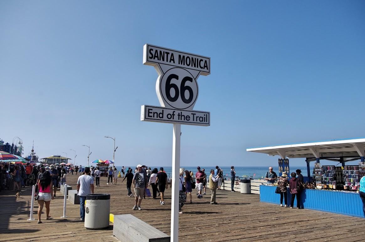 Los Ángeles, Playa de Santa Mónica