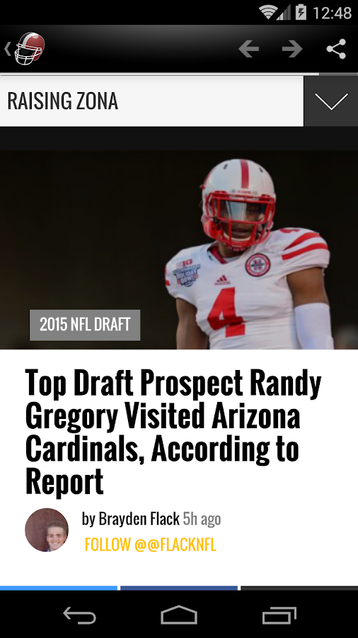 Arizona Football News- screenshot