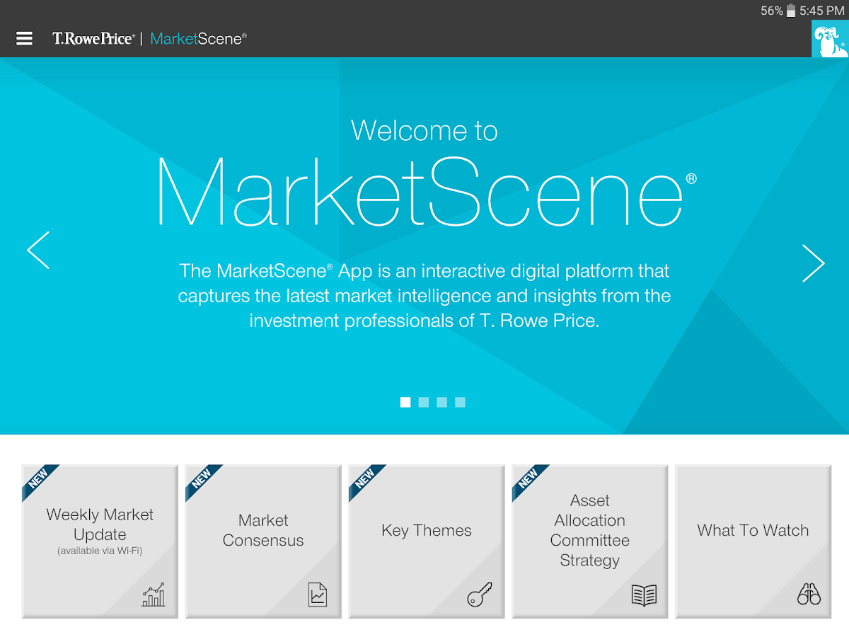 t rowe price marketscene android apps on google play. Black Bedroom Furniture Sets. Home Design Ideas