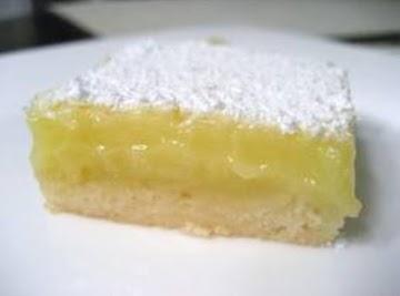 Failsafe Lemon Bars Recipe