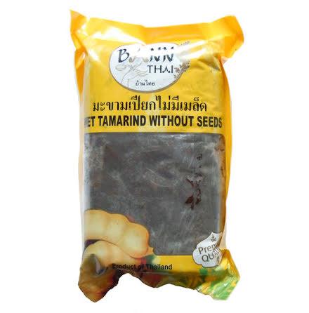 Wet Tamarind without Seeds 400 g Bann Thai