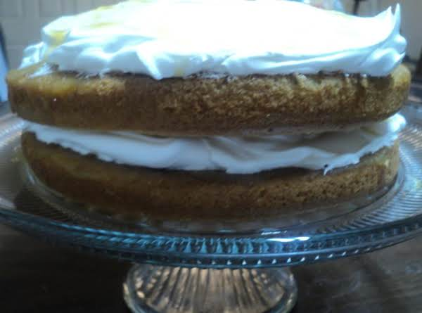 Pineapple Cloud Cake Recipe