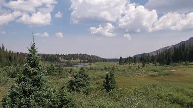 Photo: Grass Lake behind us