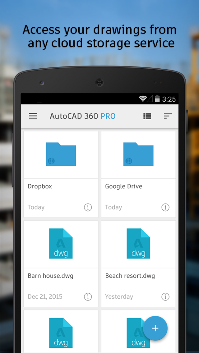 AutoCAD 360 screenshot #4