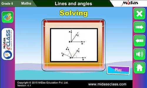MiDas eCLASS Maths 8 Demo screenshot 14