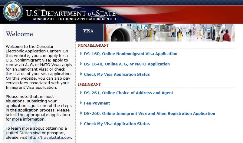 us b1b2 visa online application from nz