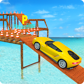 Beach Car Parking 3d Simulator 2018