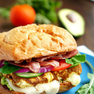 Sandwich with Omelet.