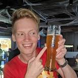 Edelweiss beer, my number one beer at Showtime Bar in Hong Kong in Hong Kong, , Hong Kong SAR