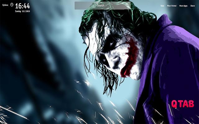 Joker Wallpapers Theme Joker New Tab
