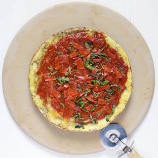 Paleo Breakfast Pizza.
