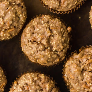 Spiced Carrot Muffins with Millet.