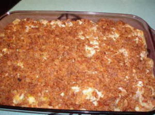 Macaroni And Chicken Casserole