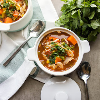 Detox Mexican Vegetable Soup.