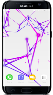 3D Abstract Particle Plexus Live Wallpaper - náhled
