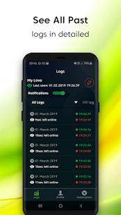 NotifyLog - online last seen tracker - náhled