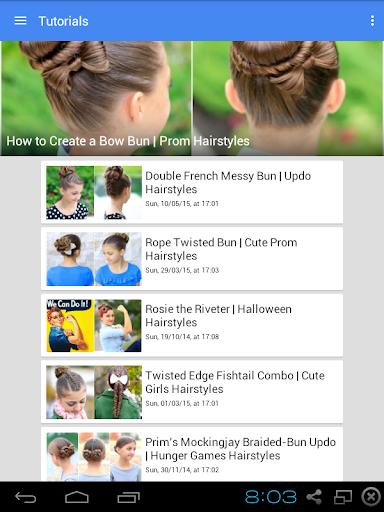 Updo Hairstyles Tutorials